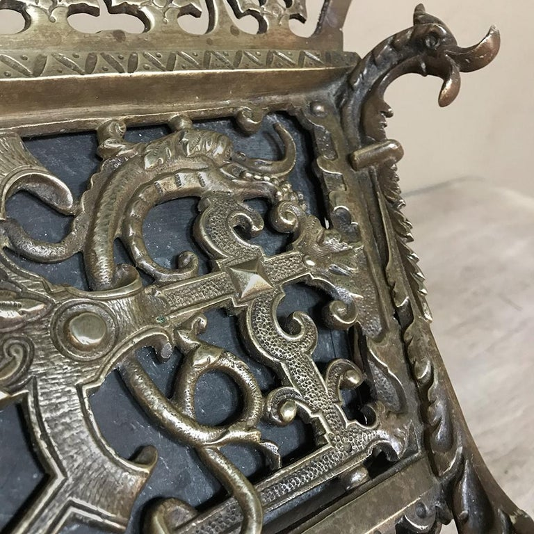19th Century French Bronze Jardiniere For Sale 7