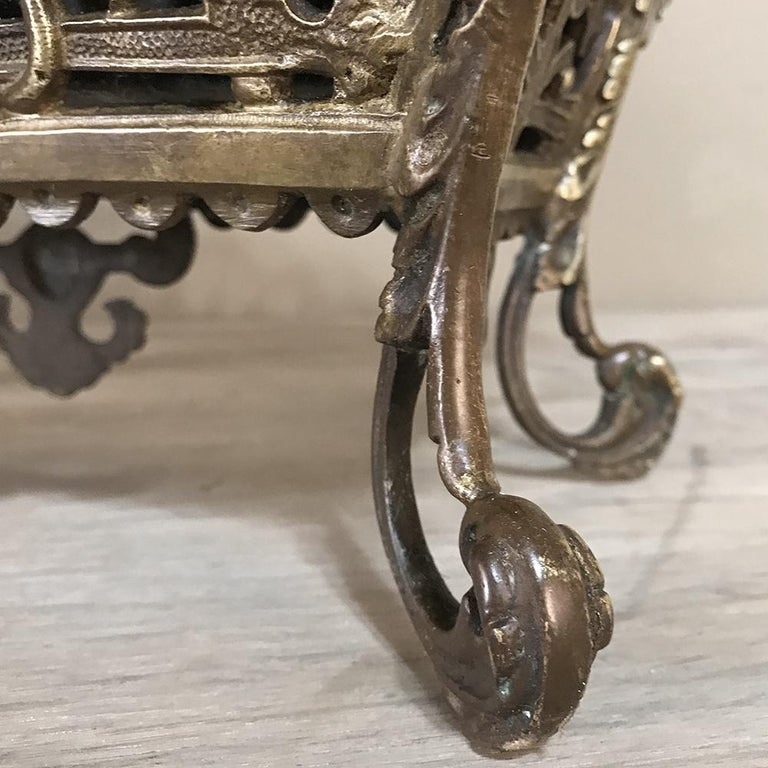 19th Century French Bronze Jardiniere For Sale 2