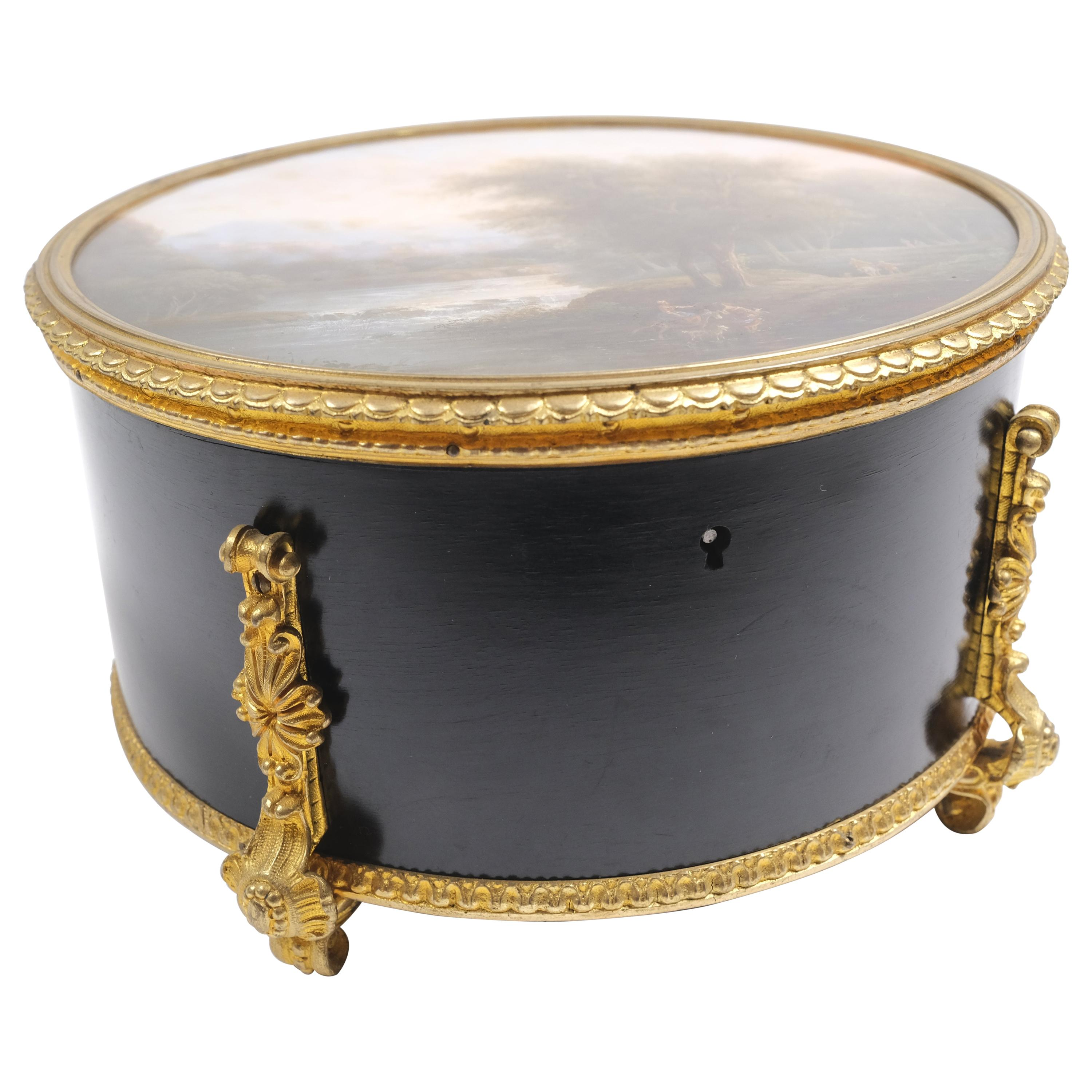 19th Century French Bronze Mounted Box