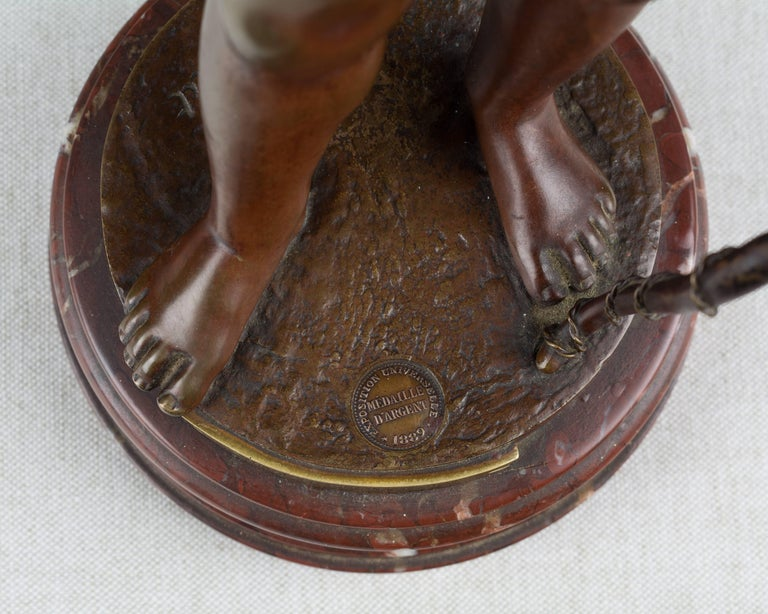 19th Century French Bronze Sculpture For Sale 4