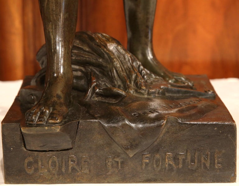 Hand-Crafted 19th Century French Bronze Sculpture
