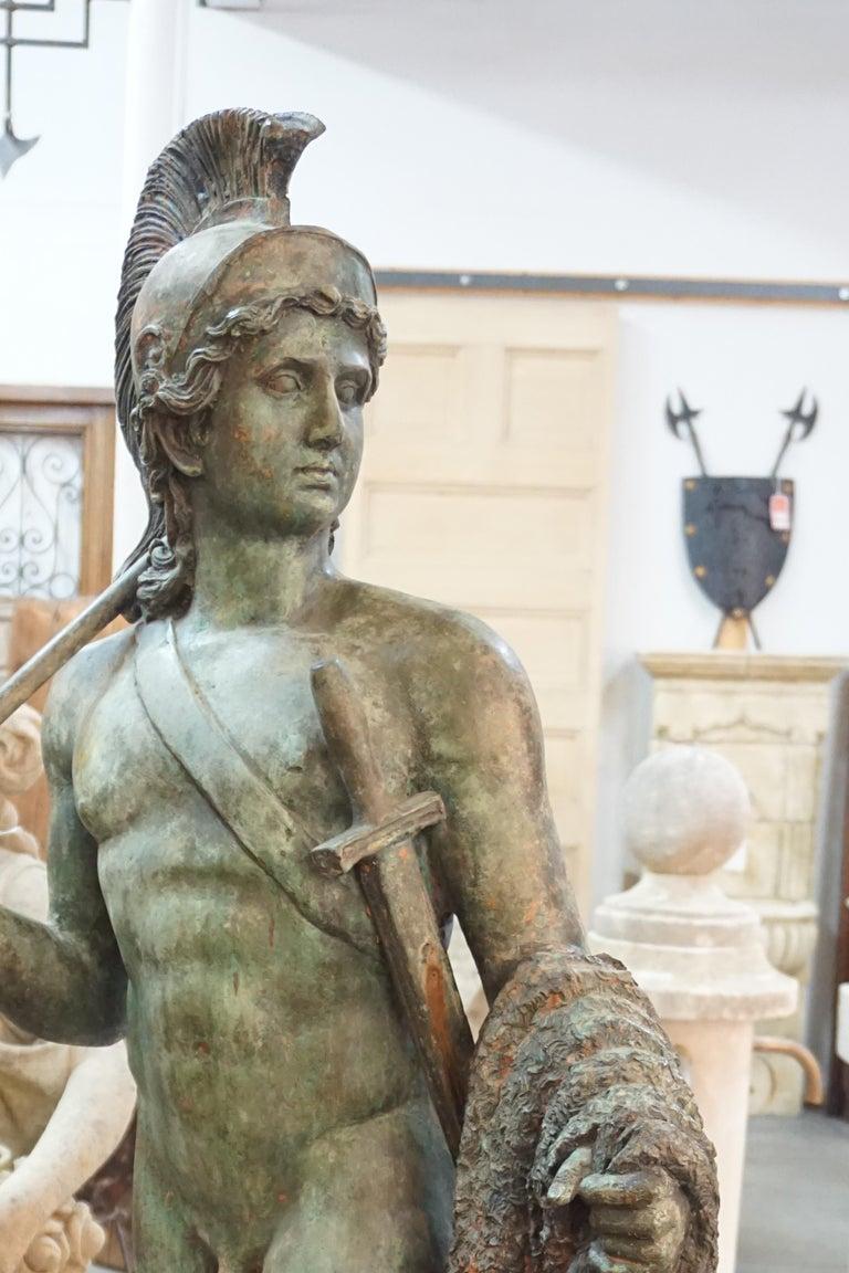 19th Century French Bronze Statue In Good Condition For Sale In Dallas, TX