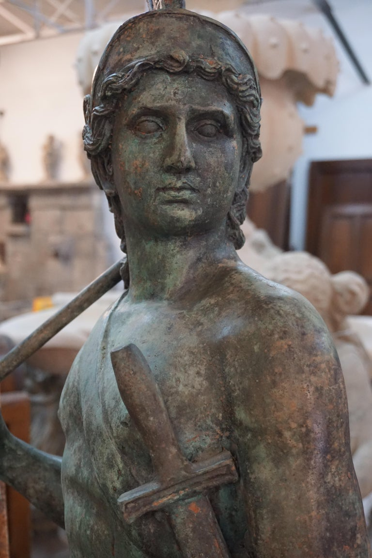 Late 19th Century 19th Century French Bronze Statue For Sale