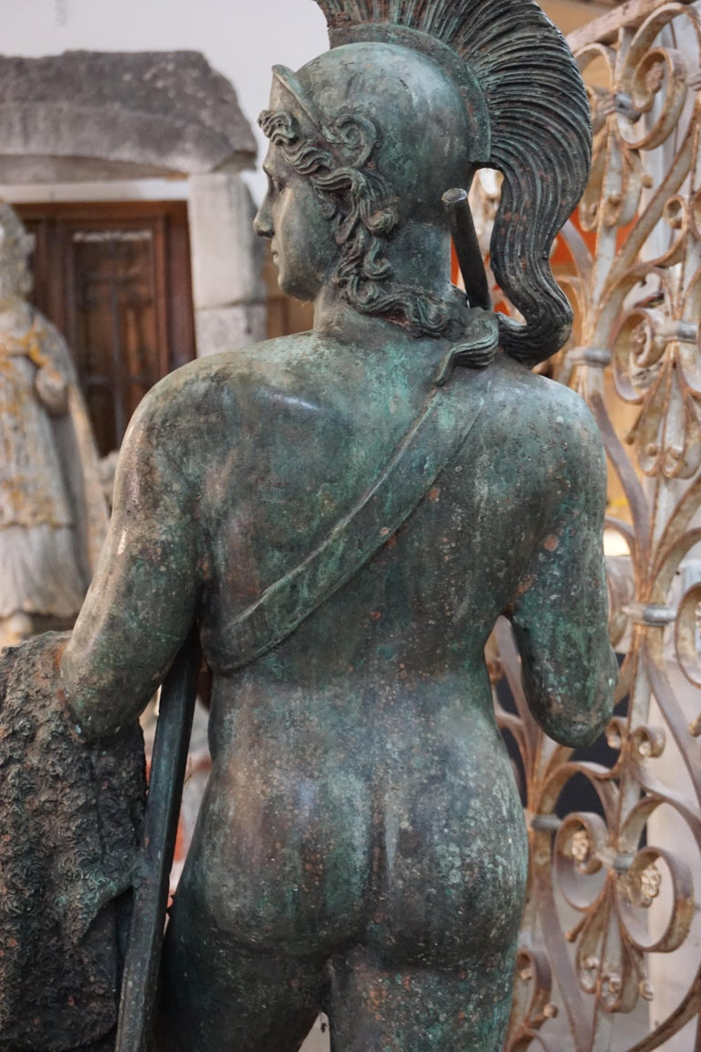 19th Century French Bronze Statue For Sale 2