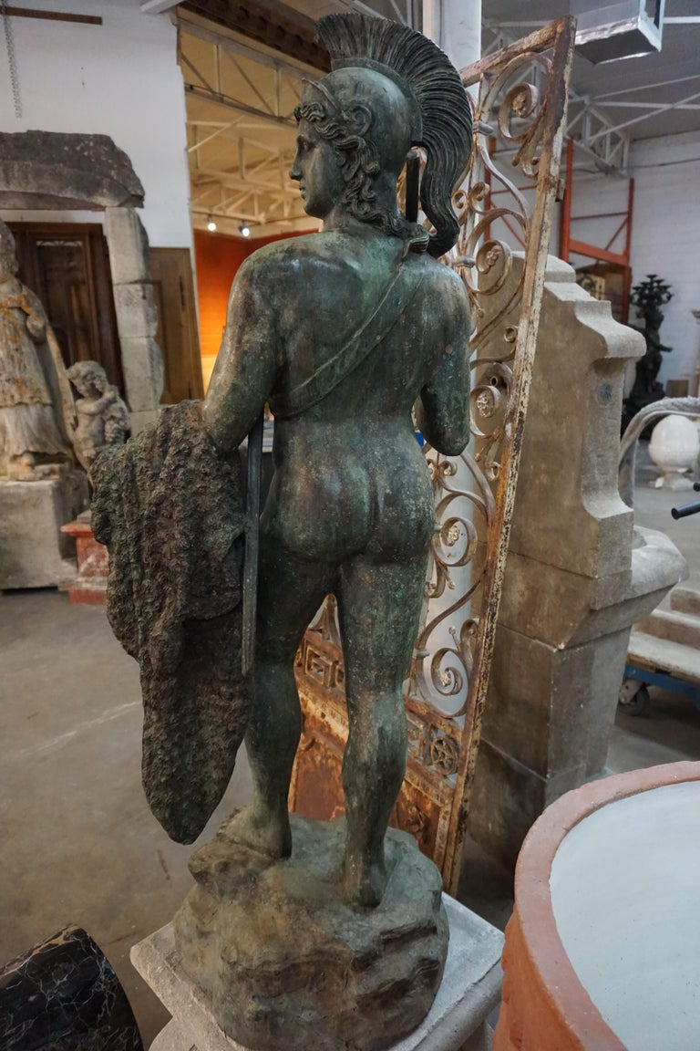 19th Century French Bronze Statue For Sale 3