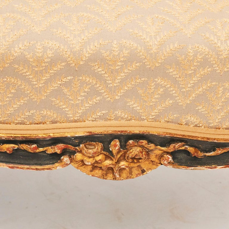 19th Century French Canapé Sofa in Rococo / Louis XV Style For Sale 6