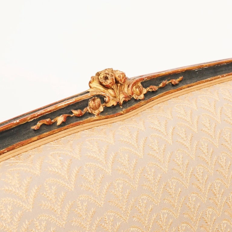 19th Century French Canapé Sofa in Rococo / Louis XV Style For Sale 3