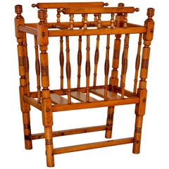 19th Century French Cane Stand