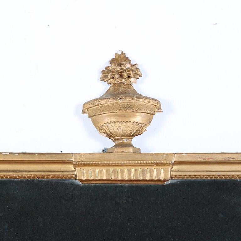 19th Century French Carved and Gilt Framed Mirror In Good Condition For Sale In Vancouver, British Columbia