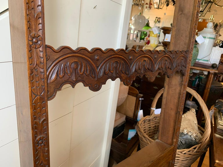 19th Century French Carved Wooden Plate Rack For Sale 2