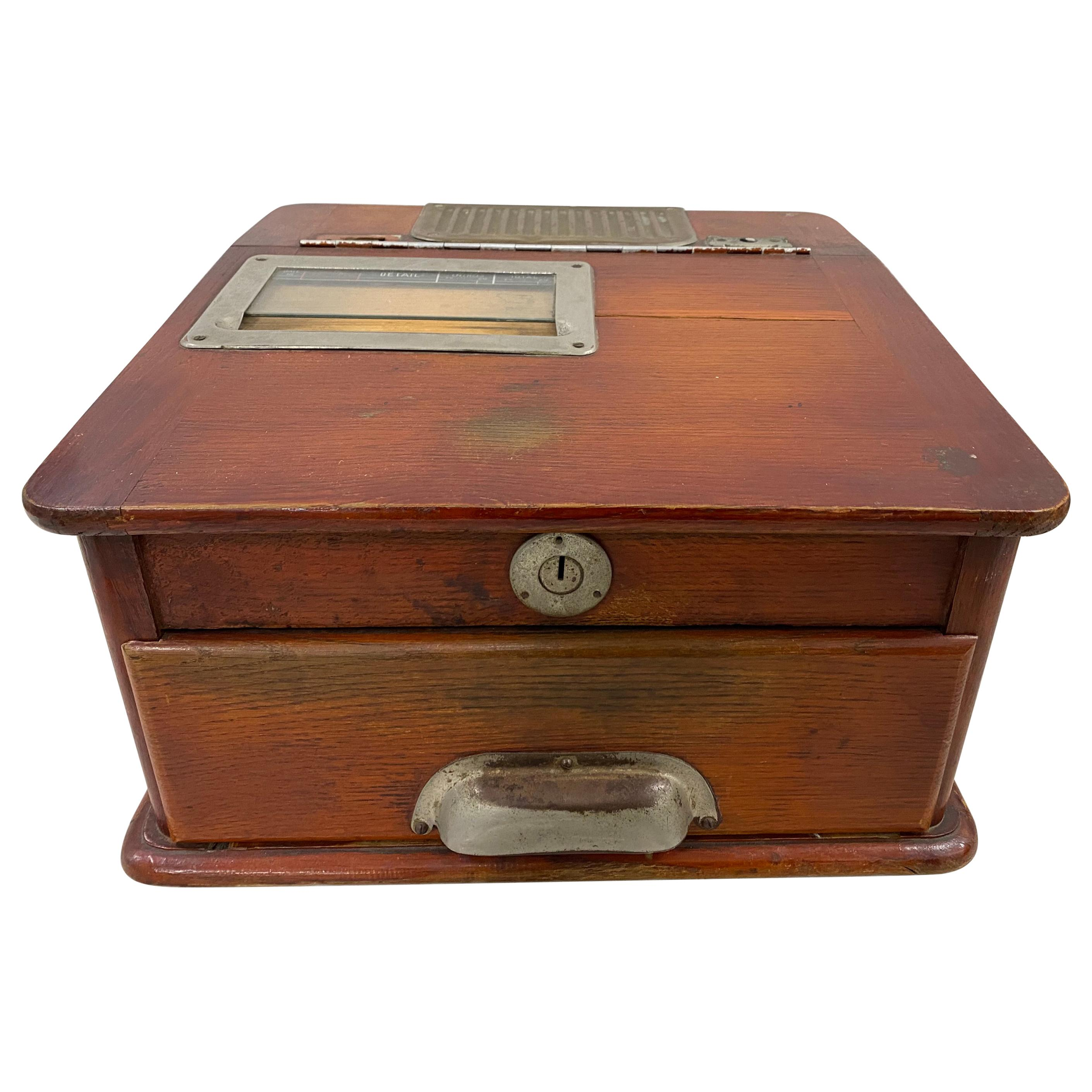 19th Century French Cash Register
