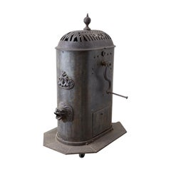 19th Century French Cast Iron Water Pump Fountain