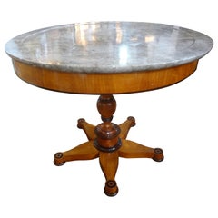 19th Century French Charles X Period Center Table or Gueridon