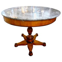 19th Century French Charles X Period Center Table or Guéridon
