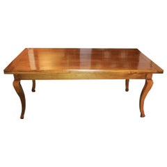19th Century French Cherry Farm Table
