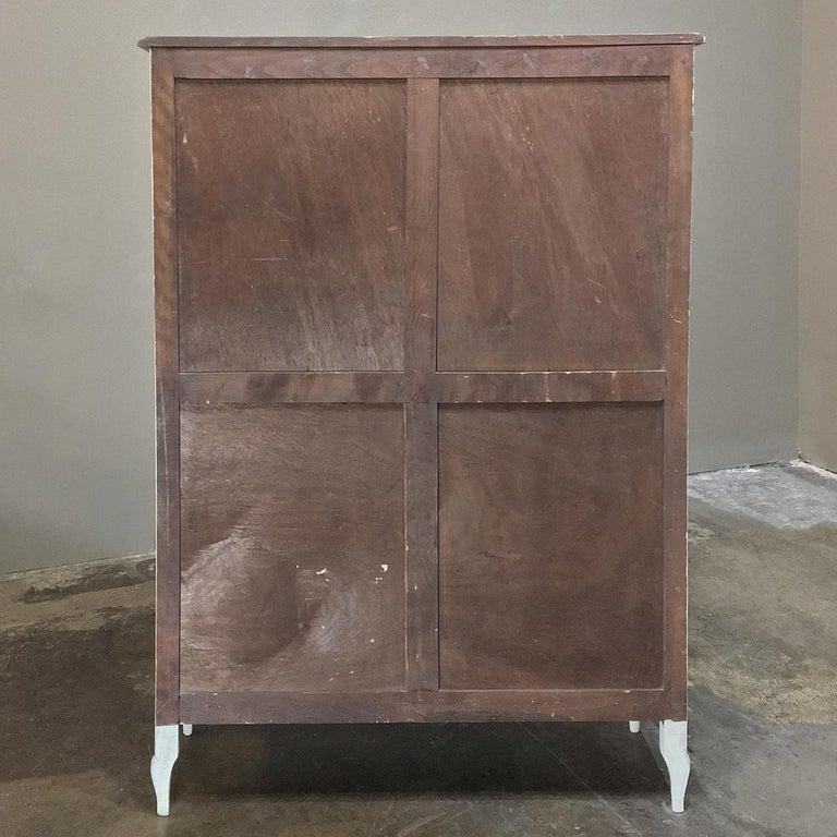19th Century French Chinoiserie Painted Armoire or Cabinet ...