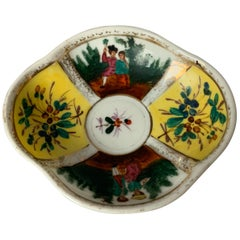 19th Century French Chinoiserie Trinket Dish