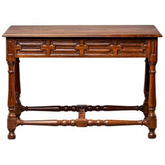 19th Century French Colonial Mahogany Console