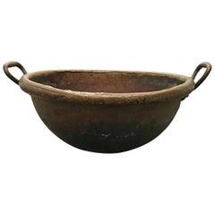 19th Century French Copper Confectioner's Pot