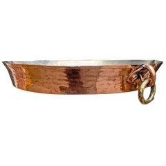 19th Century French Copper Gratin