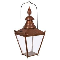 19th Century French Copper Lantern