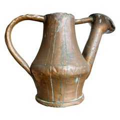 19th Century French Copper Watering Can