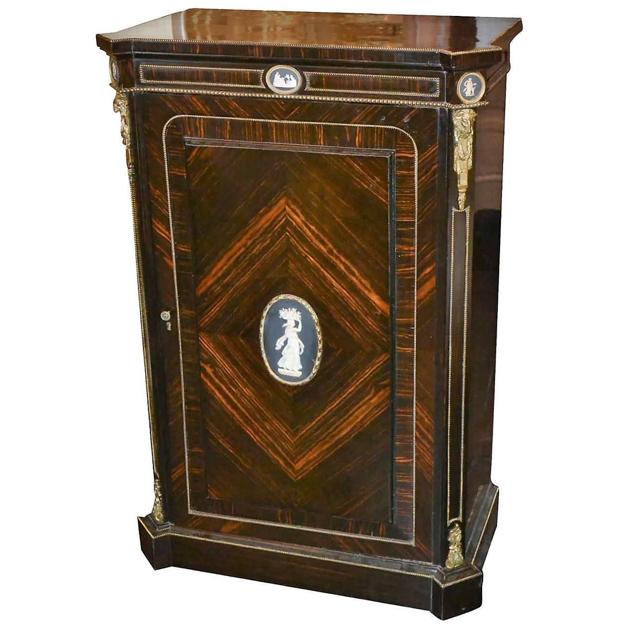 19th Century French Coromandel Side Cabinet