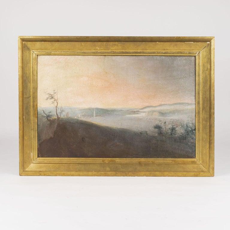 Barbizon School 19th Century French Country Landscape