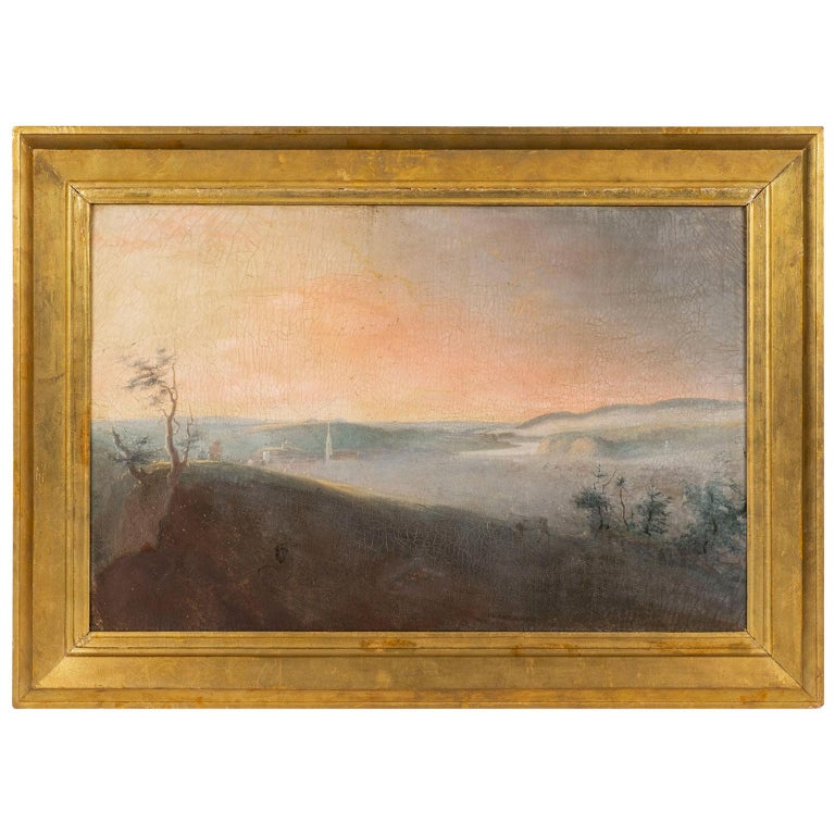 19th Century French Country Landscape