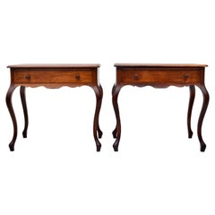 19th Century French Country Side Tables