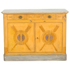 19th Century French Decorated Cabinet