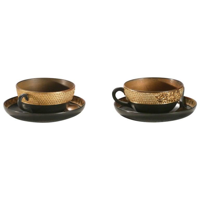 Napoleon III 19th Century French Decorative Tea Set, circa 1870s For Sale