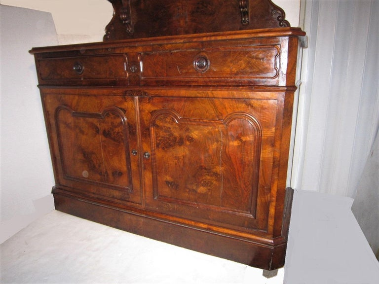 Baroque 19th Century French Dessert Cabinet Server For Sale