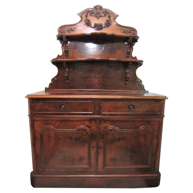 19th Century French Dessert Cabinet Server For Sale