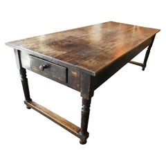 19th Century French Dining Table, Walnut