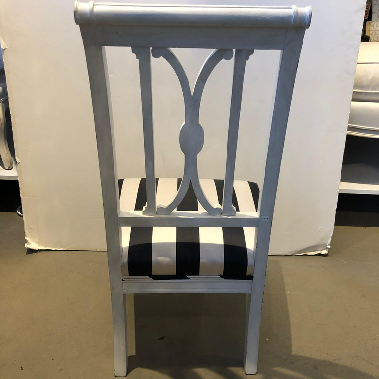 19th Century French Directoire Wooden Chair For Sale 1