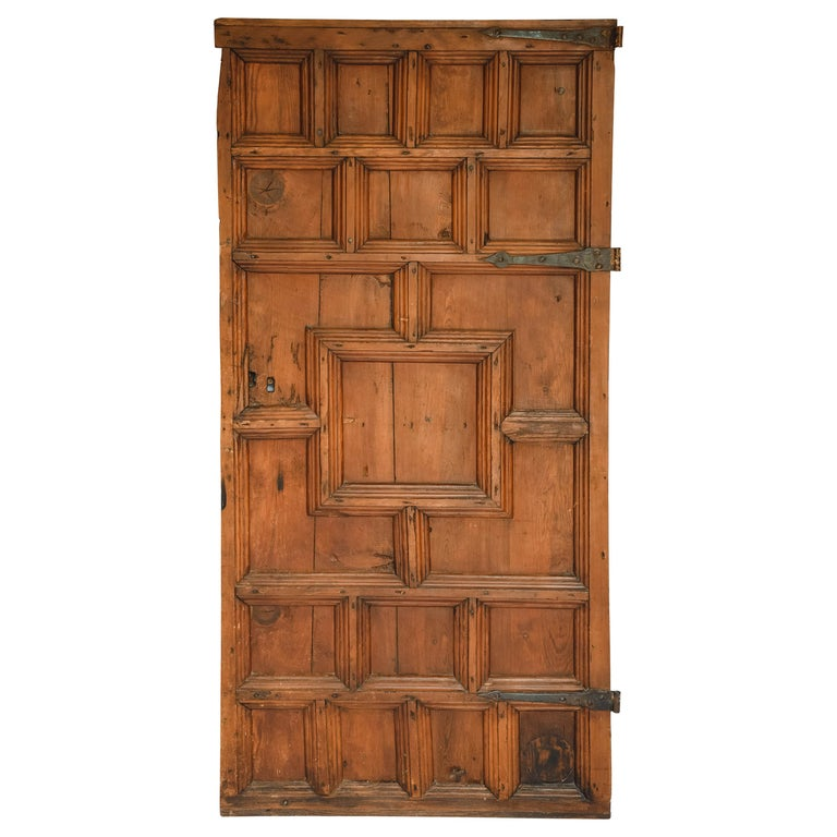 19th Century French Door For Sale