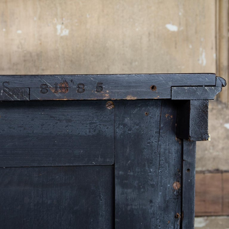 19th Century French Ebonized Side Cabinet For Sale 16