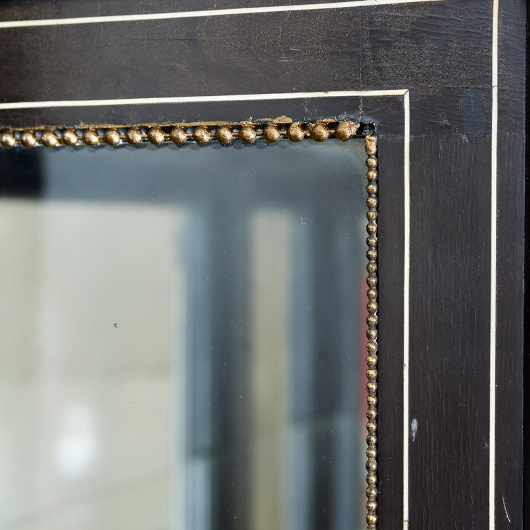 19th Century French Ebonized Side Cabinet For Sale 4