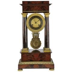 19th Century French Empire Pendulum O'Clock
