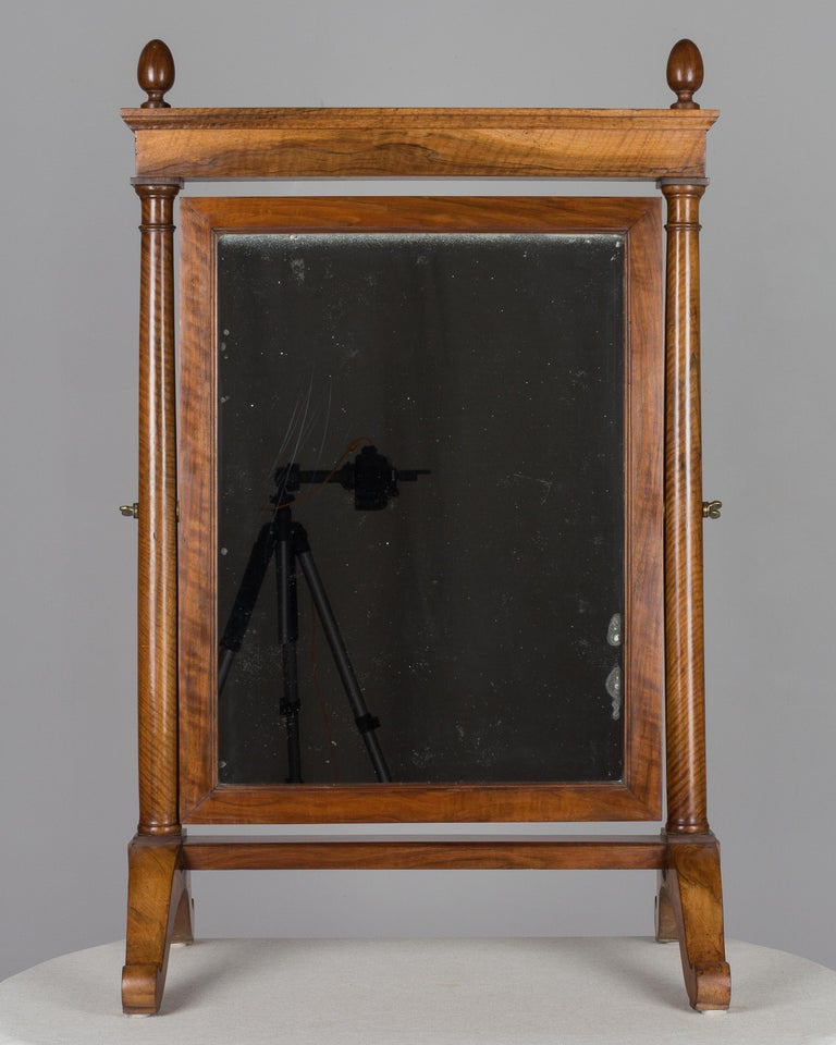 19th Century French Empire Period Cheval Mirror For Sale 1