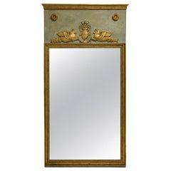 19th Century French Empire Period Trumeau Mirror