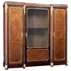19th Century French Empire Revival Mahogany Cabinet
