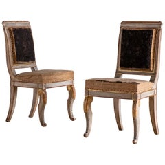 19th Century French Empire Side Chairs
