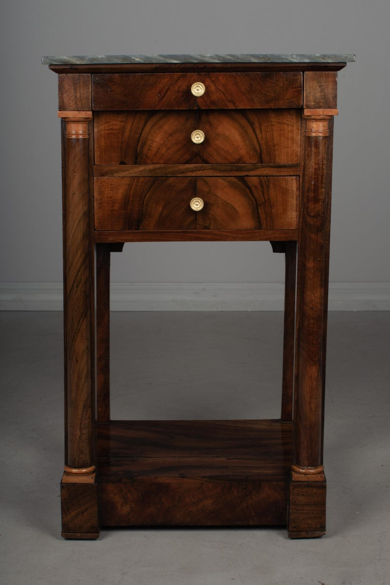 19th Century French Empire Side Table In Good Condition For Sale In Winter Park, FL