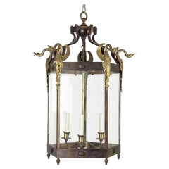 19th Century French Empire Style Hall Lantern
