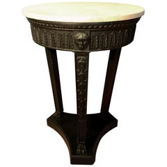 19th Century French Empire Tall Guéridon Table