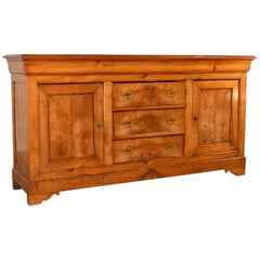 19th Century French Enfilade in Cherry
