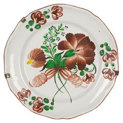 19th Century French Faience Decorative Plate