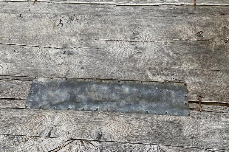 19th Century French Farm Table, Trestle Table For Sale 10